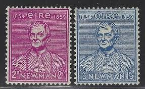 Cardinal Newman stamps
