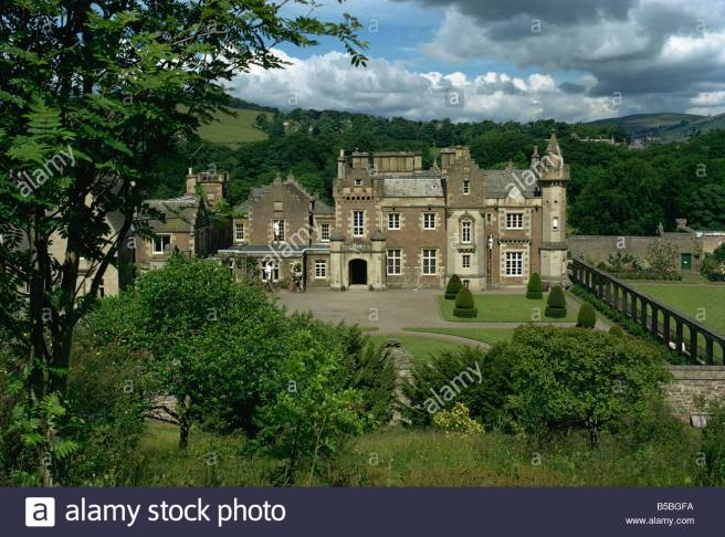 abbotsford-house-home-of-sir-walter-scott-borders-scotland-europe-B5BGFA