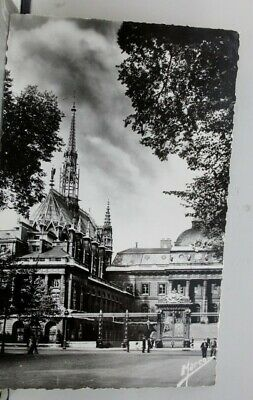 France-Paris-Notre-Justice-Palace-Chapel-Postcard-Old