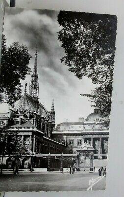 France-Paris-Notre-Justice-Palace-Chapel-Postcard-Old