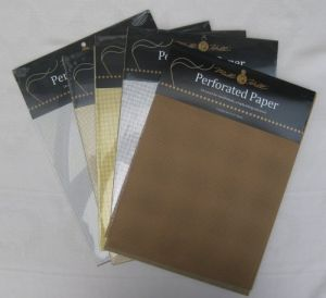 perforated paper packs