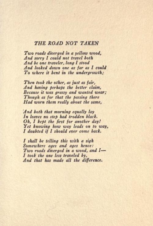 the_Road_not_taken_robert_frost